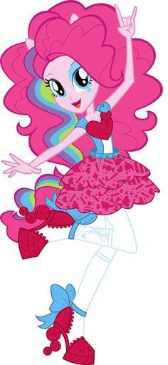 My Little Pony Friendship Is Magic Equestria Girls Rainbow Rocks Rock Star Pinkie Pie Rainbow Rocks, Neon Rainbow, Rainbow Dash, Little Poni, Equestrian Girls, My Little Pony Party, M Anime, Donia, My Little Pony Pictures