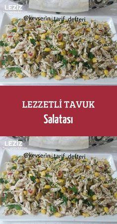 Lezzetli Tavuk Salatası  #yemektarifleri #lezzet #sunum #tarif #yemek #food #yummy #foodporn #yemektarifleri #chicken #healthy #lifestyle #recipe #salad #salata #homemade #leziz #lezzetli