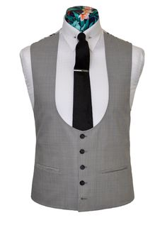 horseshoe waistcoat grey - Google Search Things To Buy, Stuff To Buy, Vest, Grey, Jackets, Google Search, Dresses, Style, Fashion