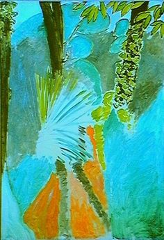 The Palm Leaf, Tangier Autumn - Henri Matisse c.1900