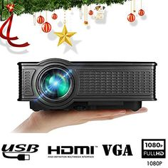 Full HD Video Projector, Boscheng LCD 1500 Lumens 1080P Portable Mini Movie Projector Multimedia Projector with HDMI VGA SD USB AV For Home Cinema Entertaiment. Specifications: Item Size:208*165*80 mm Item Weight:949 g Bundle Size:300*195*105 mm Bundle Weight:1.44 kg Optical Parameter: Item write: Home Theater, best offer