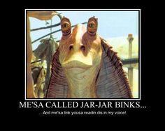 Jar Jar Binks Meme