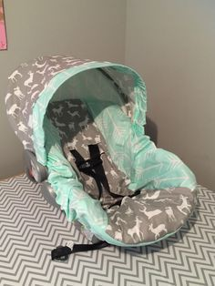 Items similar to tribal ARROWS DEER gray & mint fabric Infant Car Seat Cover on Etsy tribal. Our Baby, Baby Boy, Babies R, Camo Baby Stuff, Everything Baby, Baby Needs, Baby Time, Baby Accessories, Future Baby