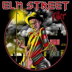 Elm Street Killer by Paula García