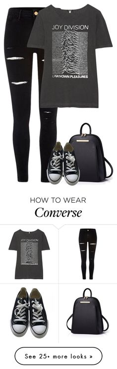 """Untitled #9783"" by fanny483 on Polyvore featuring River Island, R13 and Converse"