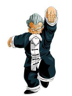 Kame-Sen'nin (亀仙人 Ermitaño Tortuga) o Muten Roshi (武天老師 Mutenrōshi, Anciano Maestro Invencible), conocido en Hispanoamérica como Maestro Roshi, era el hombre más fuerte de la Tierra, y mucha gente lo recuerda como el Dios de las Artes Marciales, pero antes de poder ser proclamado tuvo que trabajar y estudiar las artes marciales con su maestro Mutaito y su eterno rival, Tsuru Sen'nin. Es una persona baja estatura y delgada, llegando a medir 1,65 m y pesando 44 kg. Por lo general se le ...