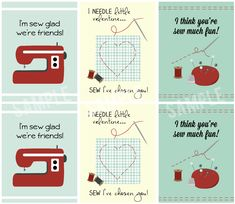 Sew Adorable Printable Valentines Cards with livelaughrowe.com