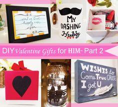 DIY Valentine Gifts for him