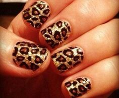 Lepord nails