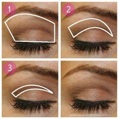 Applying Makeup Step by Step | blushing basics: Eye Makeup Tutorial {Step by Step}
