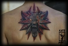 The #Witcher #game Logo #tattoo