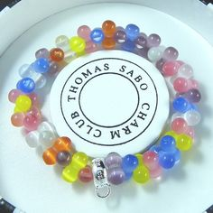 Thomas Sabo Bracelets Cheap Ceramic Colorful Stretch Bracelet - B Stretch Bracelets, Beaded Bracelets, Thomas Sabo, Bracelet Watch, Special Occasion, Ceramics, Jewels, Crystals, Holiday