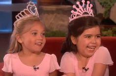 Rosie and Sophia Grace