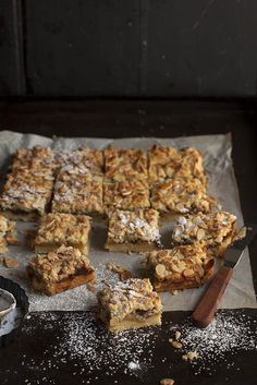 Apple and mince pie crumble bars for Christmas