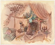 Rapunzel - early production design