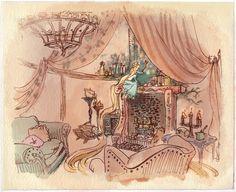 Rapunzel - early production design