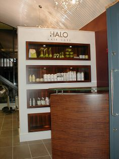 Another unique display solution for HALO #Hair Care