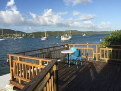 Apartment in Culebra, Puerto Rico. Located right downtown above the Dinghy Dock Bar&Grill, within walking distance to all the major restaurants and bars on Culebra. The private deck gives a beautiful space with breathtaking views of the sunrise and sunset over Ensenada Honda bay.