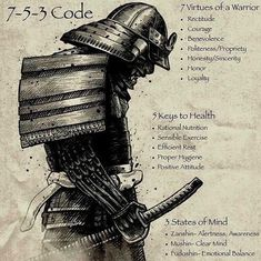 Lifestylemagick — hashtagbjj: 7 virtues of a warrior. 5 keys to...
