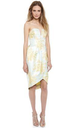 Zimmermann Valiant Inverted Brocade Dress - bridesmaid dress?