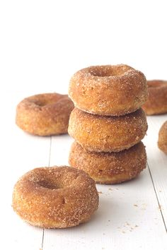 If you want your house to smell like your favourite bakery, than this is  the recipe for you! Light and fluffy sweet cinnamon donuts baked in the  oven and then generously rolled in cinnamon sugar. Donuts are my favourite  and I loveglazed donutsbut some days, a soft cinnamon donut is the  perfect afternoon treat.These donuts are so easy to throw together, you  can impress your guests for afternoon tea in no time at all. No frying and  no oil. Plus it uses basic baking ingredients so you…