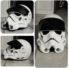 stormtrooper helmet white