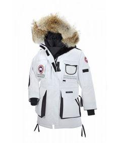 CANADA GOOSE SNOW MANTRA PARKA White WOMENS 9501L