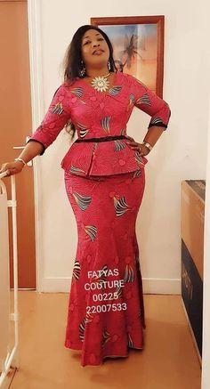 New, Fresh and Trendy Ankara styles - African Fashion Dresses Latest African Fashion Dresses, African Dresses For Women, African Print Dresses, African Print Fashion, Africa Fashion, African Attire, African Prints, Ankara Stil, Ankara Gown Styles