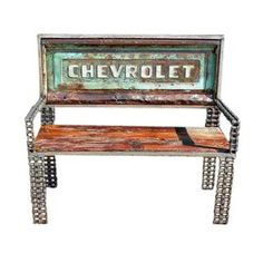Man Cave Furniture, Chevrolet Truck Tailgate Bench, Garden Furniture Ideas by