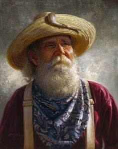 Old Miner by Alfredo Rodriguez