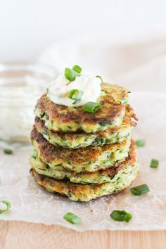 Gluten-Free Zucchini Fritters with Herb and Garlic Aioli