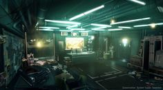 Isaias Sandoval Office from Deus Ex: Human Revolution