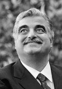 LEBANON: Rafic Hariri. PM from 1992-1998 and again from 2000 until his resignation, 20 Oct 2004.  Widely credited w/reconstructing Beirut after the 15-year civil war. Assassinated 14 Feb 2005 in Beirut. Investigation into his assassination is still ongoing. Some believe that the Syrian gov't may be linked to the assassination. Hariri's killing led to massive political change in Lebanon, including the Cedar Revolution and the w/d of Syrian troops from Lebanon.
