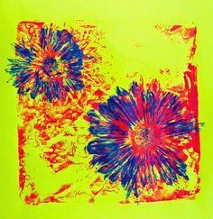 Cassie Stephens: DIY: A Warhol's Flowers Printed Dress