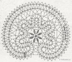Салфетка «Киришский цветок»