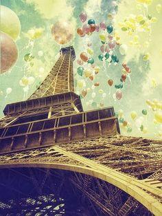 birthday in Paris