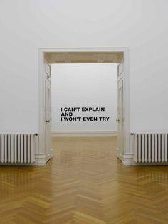 Eu não consigo explicar e nem vou tentar