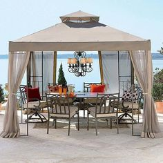 Outdoor Oasis 2010 Gazebo Replacement - contemporary - gazebos - gardenwinds.com