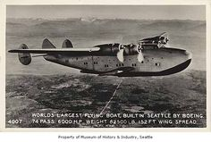 Boeing Flying Boat in flight