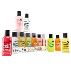 Bubble Bath and Shower Cream Miniature Collection 3