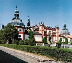 ***Svatá Hora-Příbram cz*** Monastery of Svatá Hora Czech Republic Prague, European Countries, Czech Republic, Places Ive Been, Medieval, Nature, Travelling, Paradise, Rock