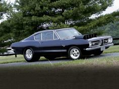 1968 Plymouth Barracuda Front Passengers Side View