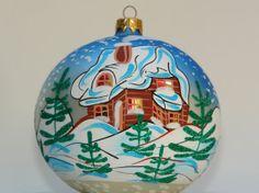 Hand+Painted+Christmas+Ornaments+Glass+Ball+Holiday+by+aniamelisa,+$19.90