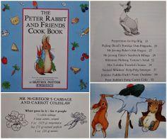 ...a quiet life...: beatrix potter easter week. Peter Rabbit & Friends Cook Book!