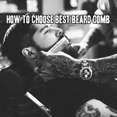 How To Choose Best Beard Comb at beardoholic.com Use what feels best on your manly beard!