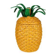 This is amazing! Zara pineapple basket.