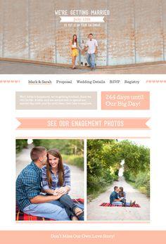 Wedding Website @Sarah Todd