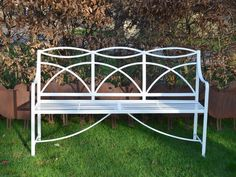 A Regency wrought iron garden bench - Architectural Heritage