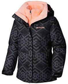 Columbia Bugaboo II Fleece Interchange Jacket for Girls