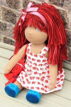 She's beautiful!!! Annalyn would love her red hair!!